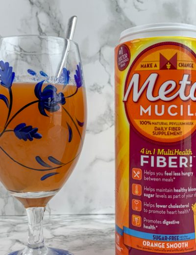 Metamucil on counter