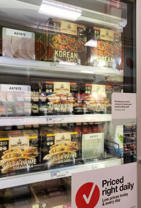 Sweet Earth Foods at Target - vegetarian or vegan meal