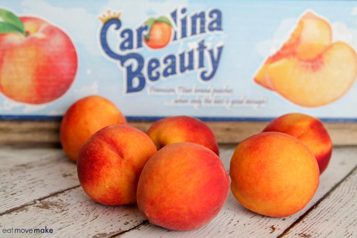 Carolina Beauty peaches