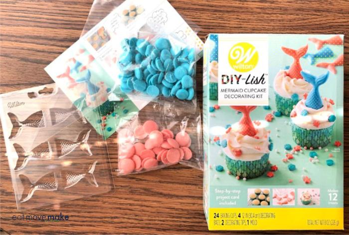 Wilton mermaid cupcake kit