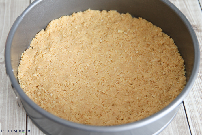 lemon cookie crust for cheesecake