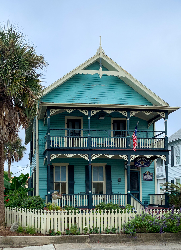 1894 House - St. Augustine bed and breakfast
