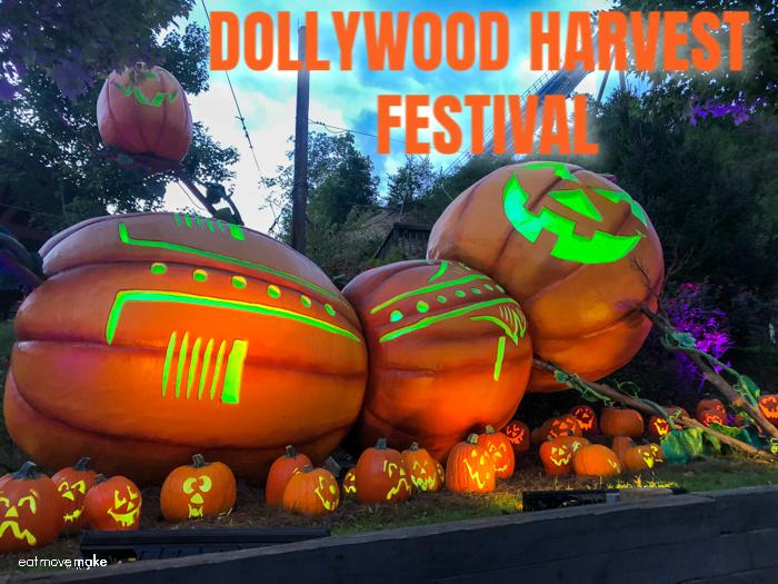 Dollywood Harvest Festival display