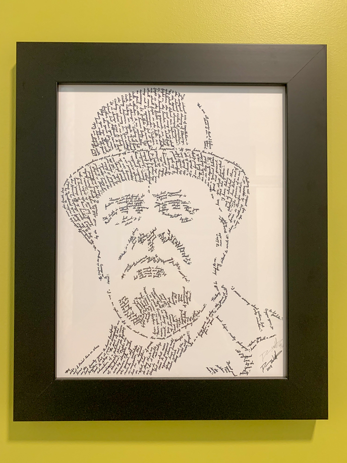 Winston Churchill art