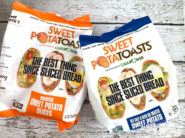 Sweet PotaTOASTS packages