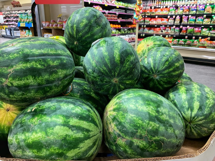 Local Goodness watermelons at Food Lion