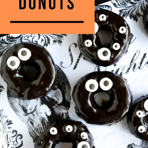 Chocolate covered donuts