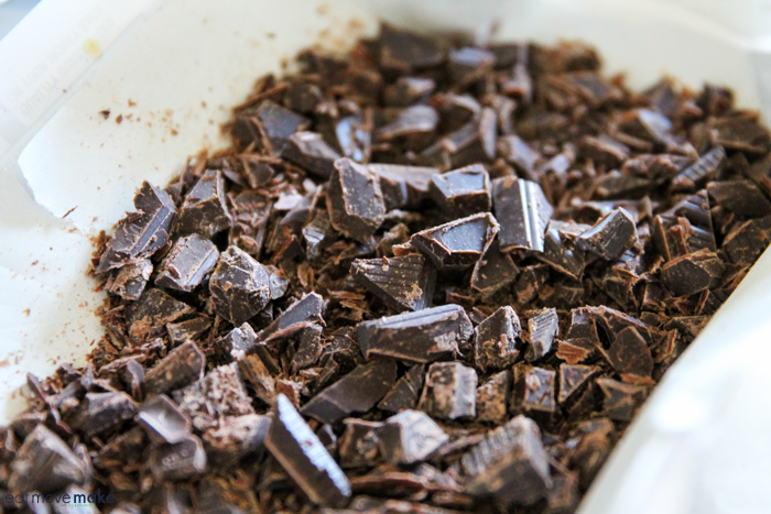 chopped semi-sweet chocolate