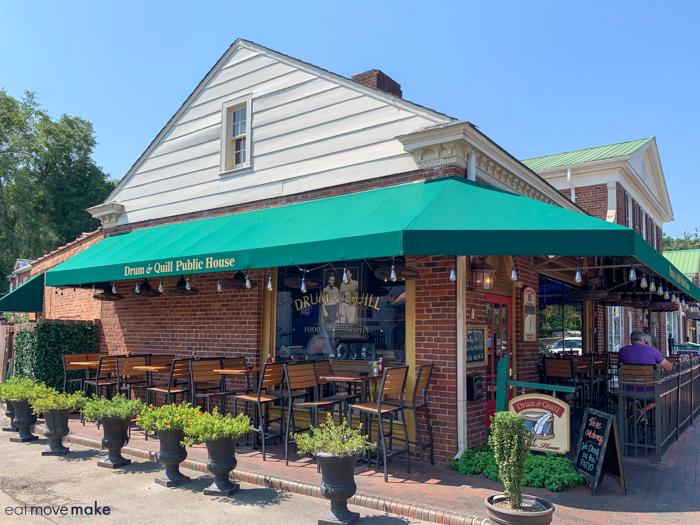 Drum and Quill restaurant exterior