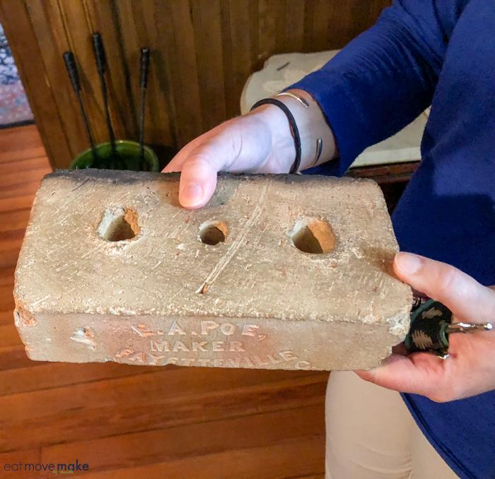 EA Poe brick