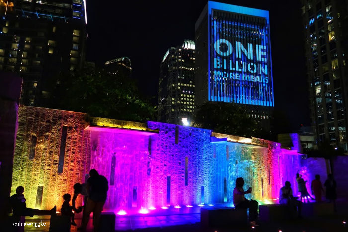 one billion meals display in Charlotte NC