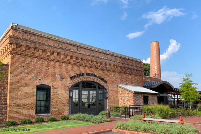 PInehurst Brewing company exterior