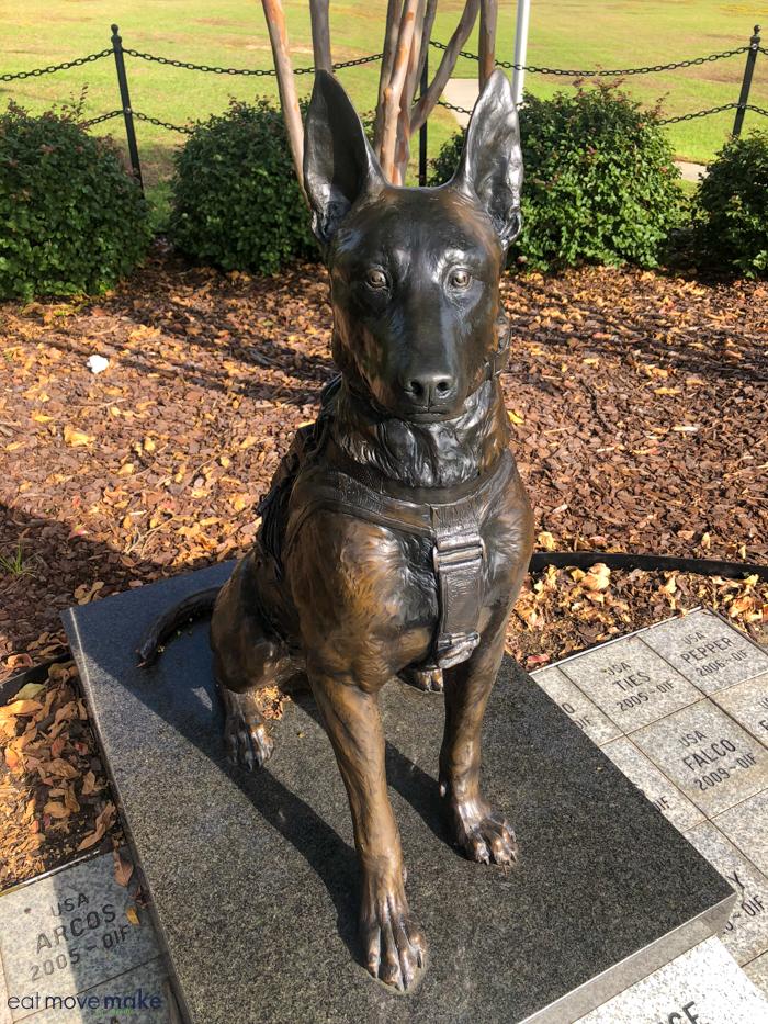 Constant Vigilance statue