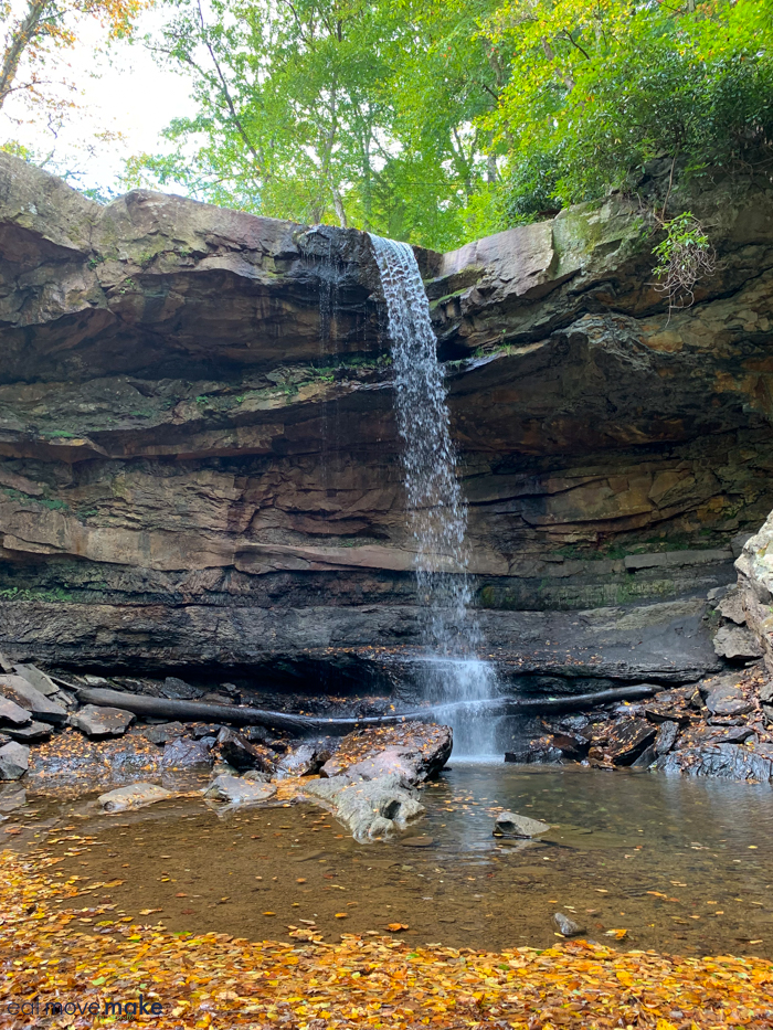 Ohiopyle State Park Cucumber Falls