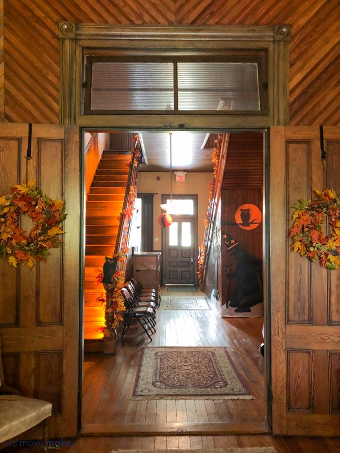 EA Poe house entrance