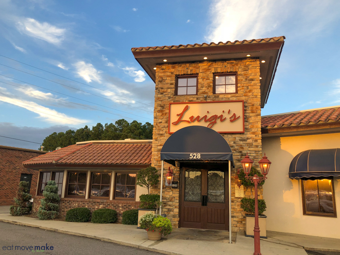 Luigis restaurant in Fayetteville