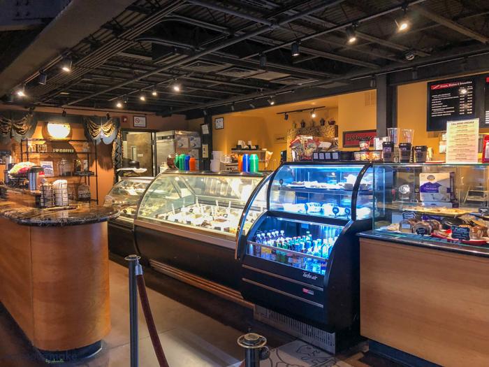 The Coffee Scene interior