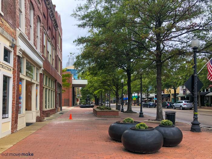 sidewalk in Fayetteville NC