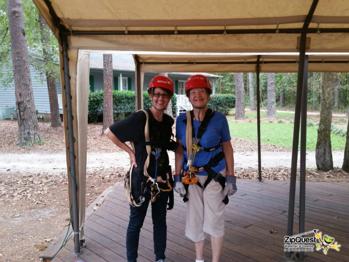 things to do in Fayetteville NC - ziplining!