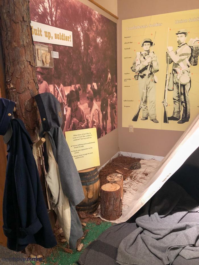 display in museum