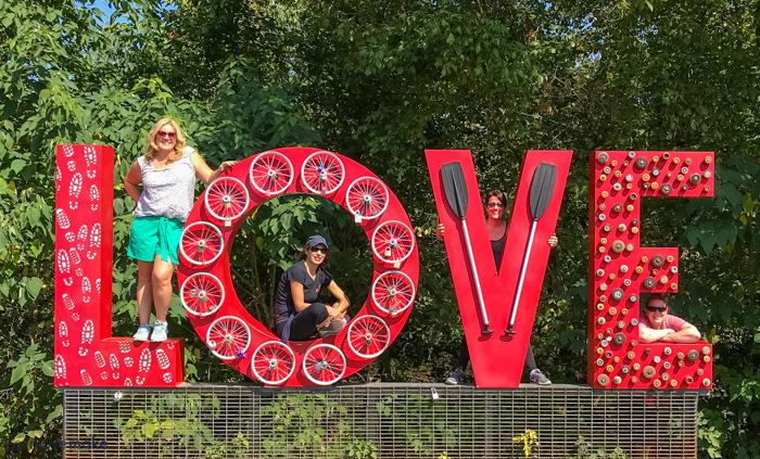 Lynchburg VA love sign