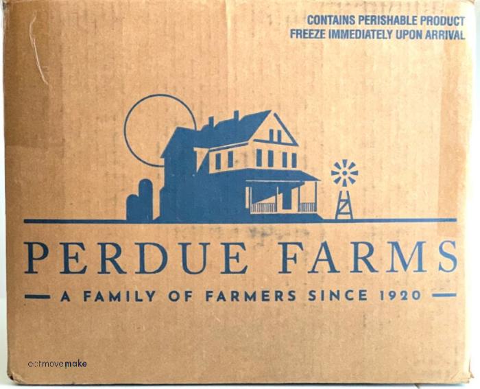Perdue Farms shipping box