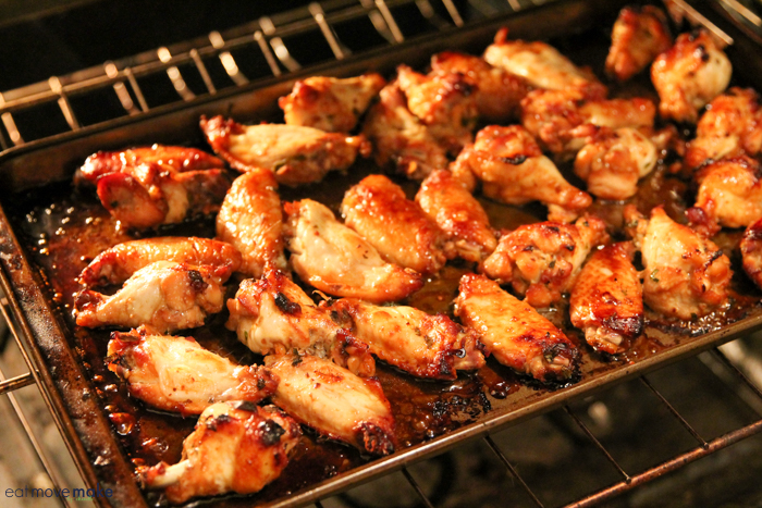 chicken wings in the oven