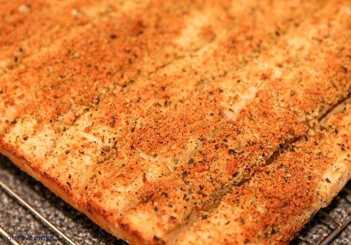 freshly baked copycat Pizza Hut breadsticks