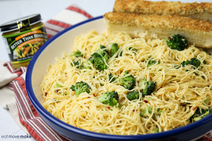 broccoli and noodles