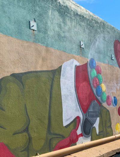 gumball head mural
