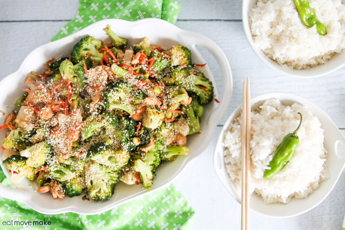 Japanese vegetable stir fry with rice