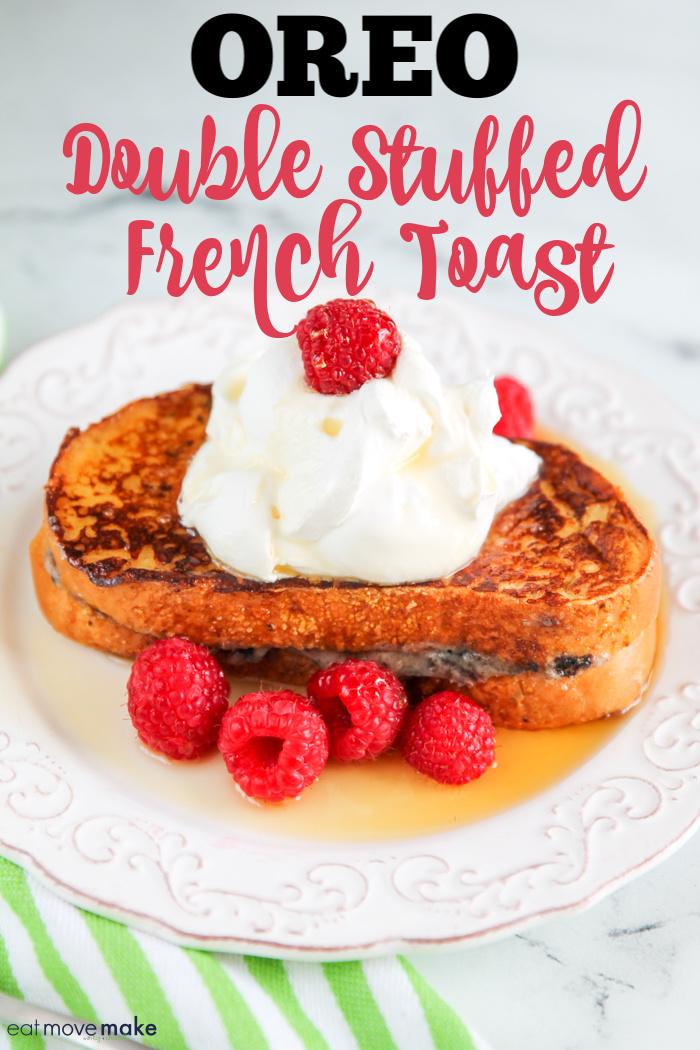 Oreo French toast