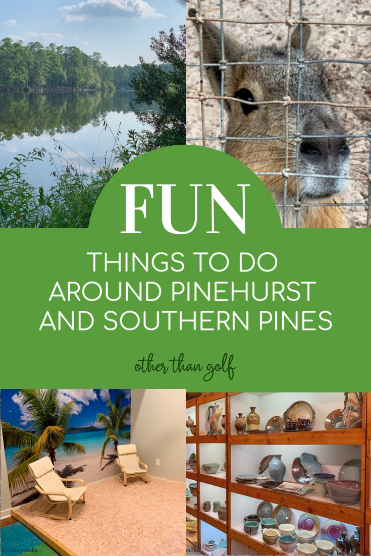 fun things to do in southern pines and pinehurst nc