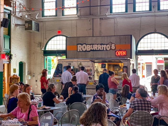 Roburritos - York restaurants in Central Market