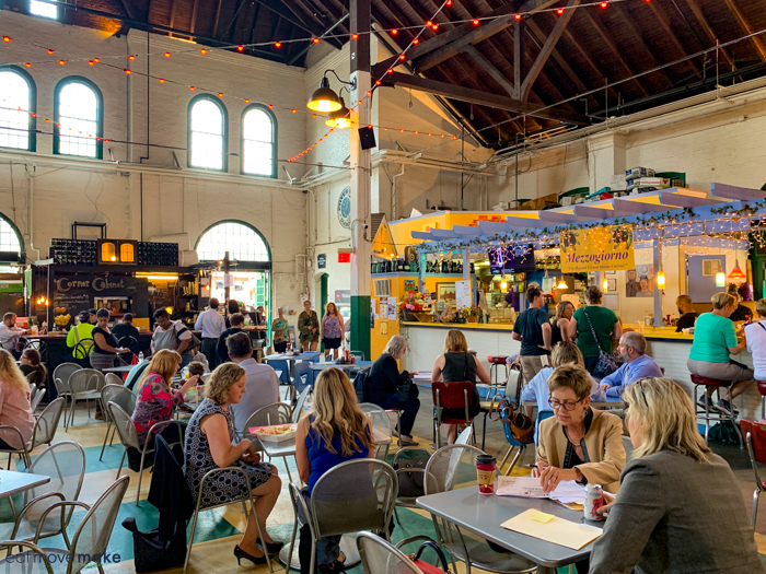 dining at Central Market - York PA