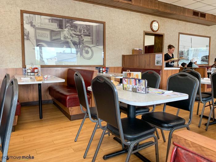 Inside Central Family Restaurant