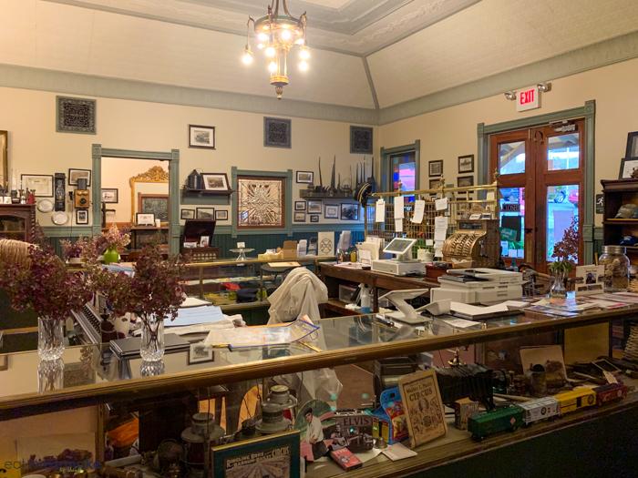 inside depot at dolittle's