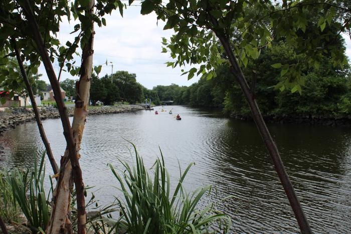 kayaking on Mispillion River