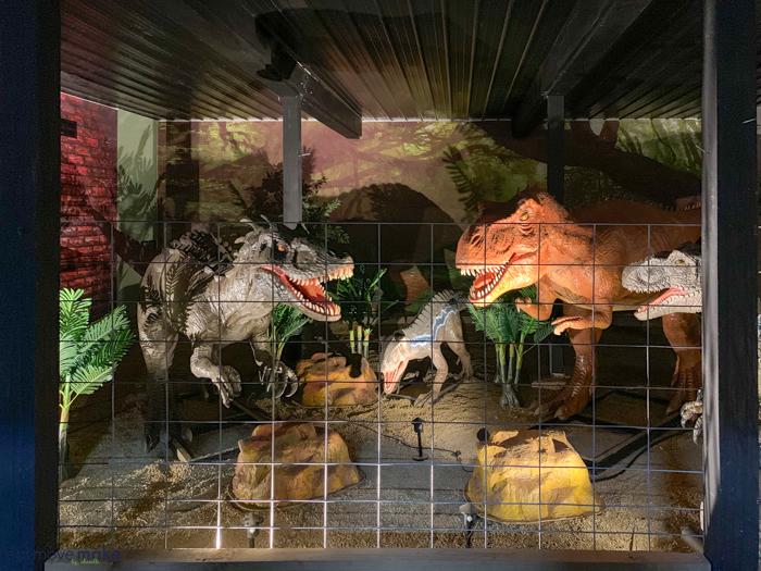 Dolittle Station dinosaur museum