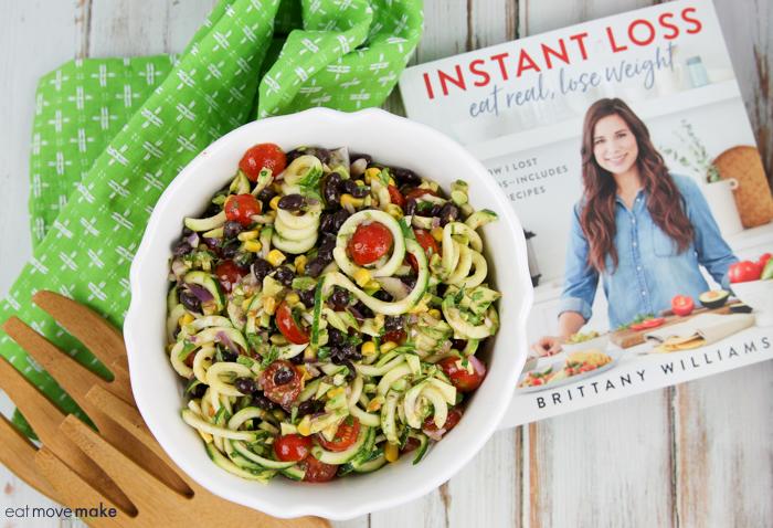no-cook zucchini pasta