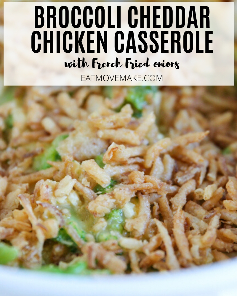 broccoli cheddar chicken casserole