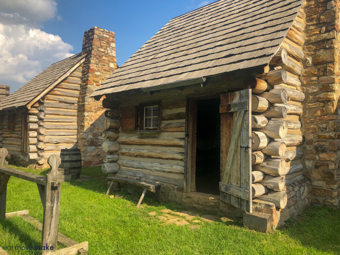building at Fort Roberdeau