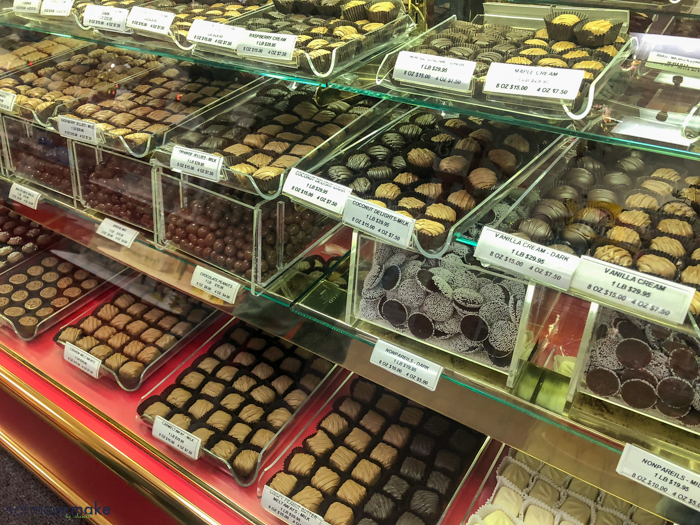 Gardner's Candies selection