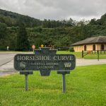 Horseshoe Curve sign