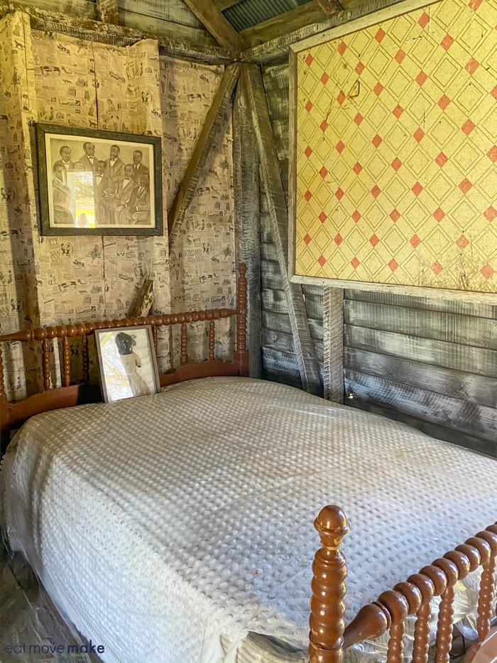 inside slave cabin