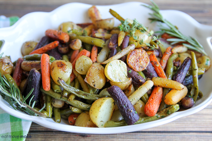 roasted veggies in bowl