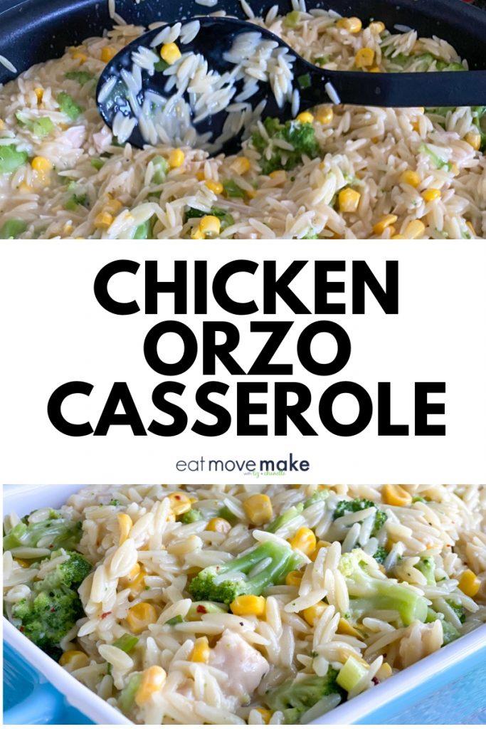 chicken orzo casserole recipe