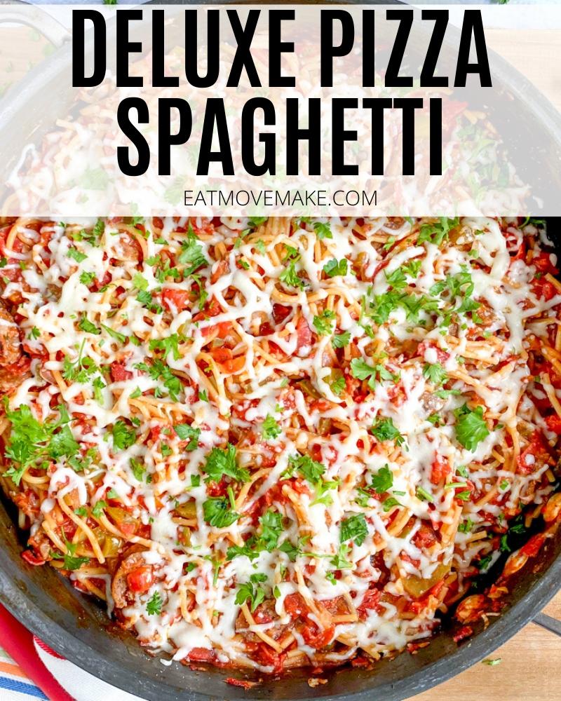 Deluxe Pizza Spaghetti
