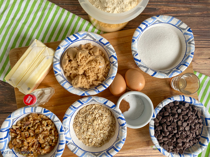 ingredients for doubletree chocolate chip cookies recipe