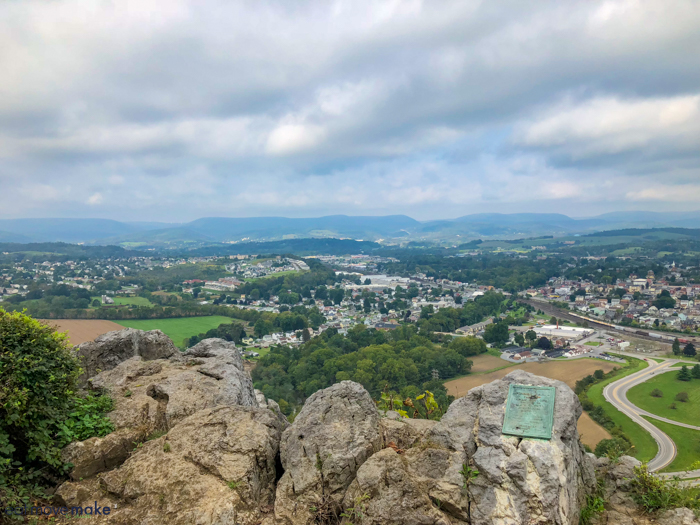 overlook at Chimney Rocks Park